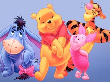 Papel de parede Pooh e seus amigos para download gratuito. Use no computador pc, mac, macbook, celular, smartphone, iPhone, onde quiser!