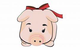 Papel de parede Porco – De Laço