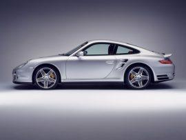 Papel de parede Porsche 911 turbo perfil
