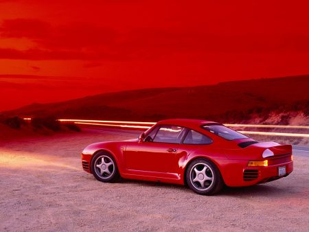 Papel de parede Porsche 959 para download gratuito. Use no computador pc, mac, macbook, celular, smartphone, iPhone, onde quiser!