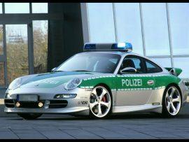 Papel de parede Porsche da polícia
