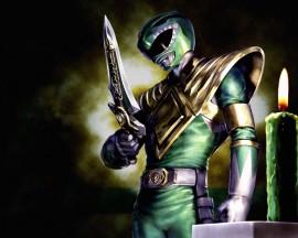 Papel de parede Power Ranger Verde