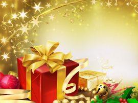 Papel de parede Presente de Natal – Mágico