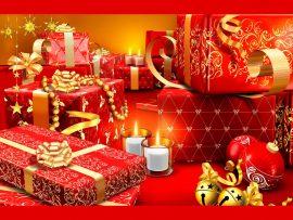 Papel de parede Presente de Natal – Muitos
