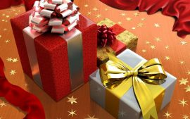 Papel de parede Presente de Natal – Para a Família