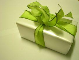 Papel de parede Presente de Natal – Verde