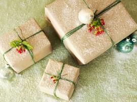 Papel de parede Presentes de Natal