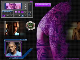 Papel de parede Prison Break – Tatoo