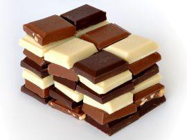 Papel de parede Quadradinhos de Chocolate