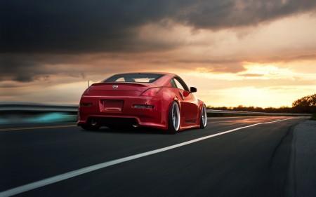 Papel de parede Nissan 350z Vermelho para download gratuito. Use no computador pc, mac, macbook, celular, smartphone, iPhone, onde quiser!
