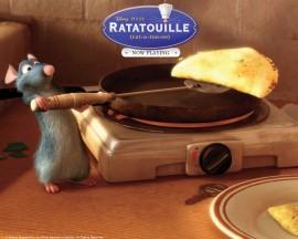 Papel de parede Ratatouille