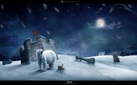 Papel de parede Rei Polar