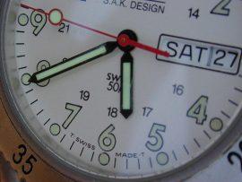 Papel de parede Relógio – Suísso