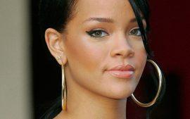 Papel de parede Rihanna – Rosto
