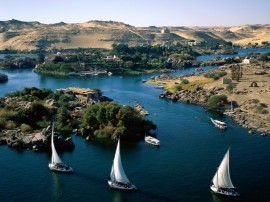 Papel de parede Rio Nilo – Egito