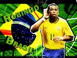 Papel de parede Robinho – Brasil