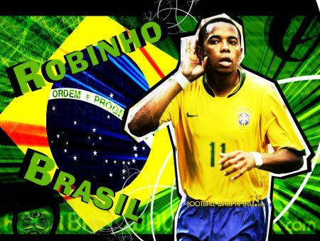 Papel de parede Robinho – Brasil para download gratuito. Use no computador pc, mac, macbook, celular, smartphone, iPhone, onde quiser!