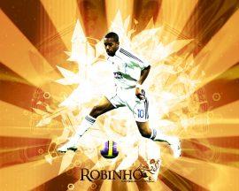 Papel de parede Robinho – Real Madrid