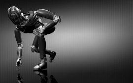 Papel de parede Robô – Corredor