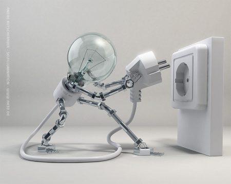 Papel de parede Robô – Lâmpada para download gratuito. Use no computador pc, mac, macbook, celular, smartphone, iPhone, onde quiser!