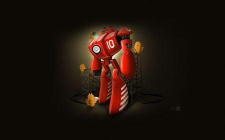 Papel de parede Robô de Gato para download gratuito. Use no computador pc, mac, macbook, celular, smartphone, iPhone, onde quiser!