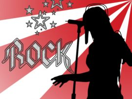 Papel de parede Rock – Cantora