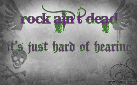 Papel de parede Rock não morreu para download gratuito. Use no computador pc, mac, macbook, celular, smartphone, iPhone, onde quiser!