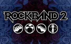 Papel de parede Rockband 2 – Instrumentos