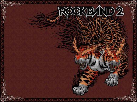 Papel de parede Rockband 2 – Tigre de duas cabeças para download gratuito. Use no computador pc, mac, macbook, celular, smartphone, iPhone, onde quiser!