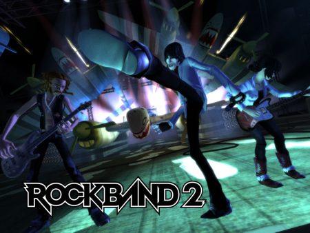 Papel de parede Rockband 2 para download gratuito. Use no computador pc, mac, macbook, celular, smartphone, iPhone, onde quiser!