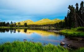 Papel de parede Parque Nacional das Montanhas Rochosas