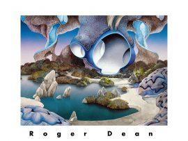 Papel de parede Roger Dean: artista das capas do Yes