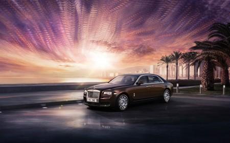 Papel de parede Rolls-Royce Ghost para download gratuito. Use no computador pc, mac, macbook, celular, smartphone, iPhone, onde quiser!