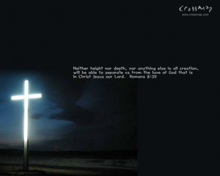 Papel de parede Romanos 8:39 para download gratuito. Use no computador pc, mac, macbook, celular, smartphone, iPhone, onde quiser!