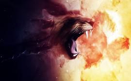 Papel de parede Rugido do Leão
