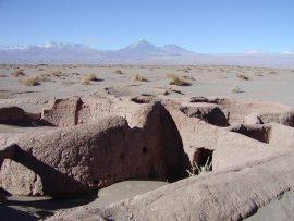 Papel de parede Ruínas no Atacama