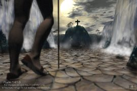 Papel de parede Salmo 141:8
