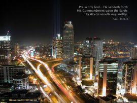 Papel de parede Salmo 147:12-15