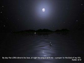 Papel de parede Salmo 42:8