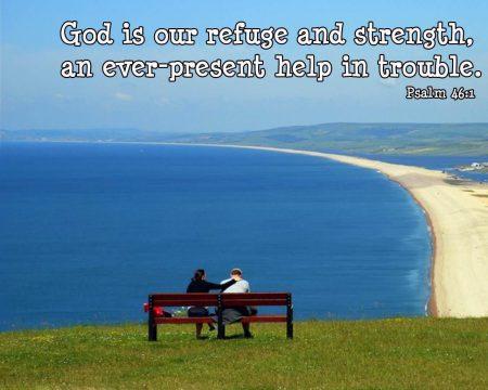 Papel de parede Salmo 46 para download gratuito. Use no computador pc, mac, macbook, celular, smartphone, iPhone, onde quiser!