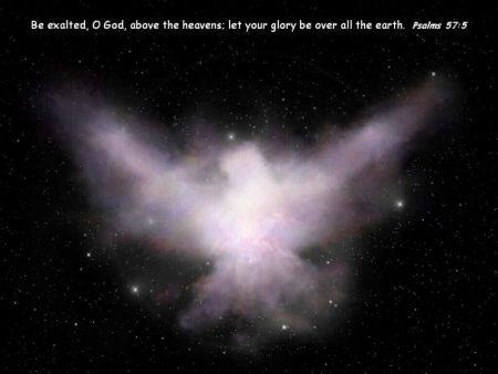 Papel de parede Salmo 57:5 para download gratuito. Use no computador pc, mac, macbook, celular, smartphone, iPhone, onde quiser!