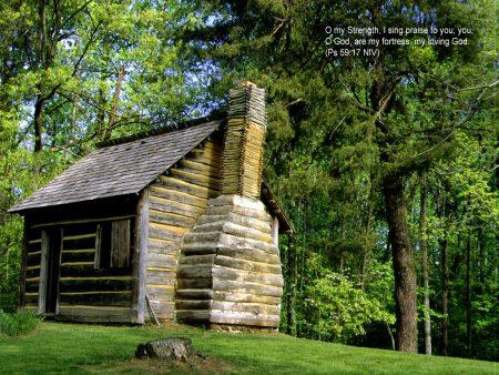 Papel de parede Salmo 59:17 para download gratuito. Use no computador pc, mac, macbook, celular, smartphone, iPhone, onde quiser!