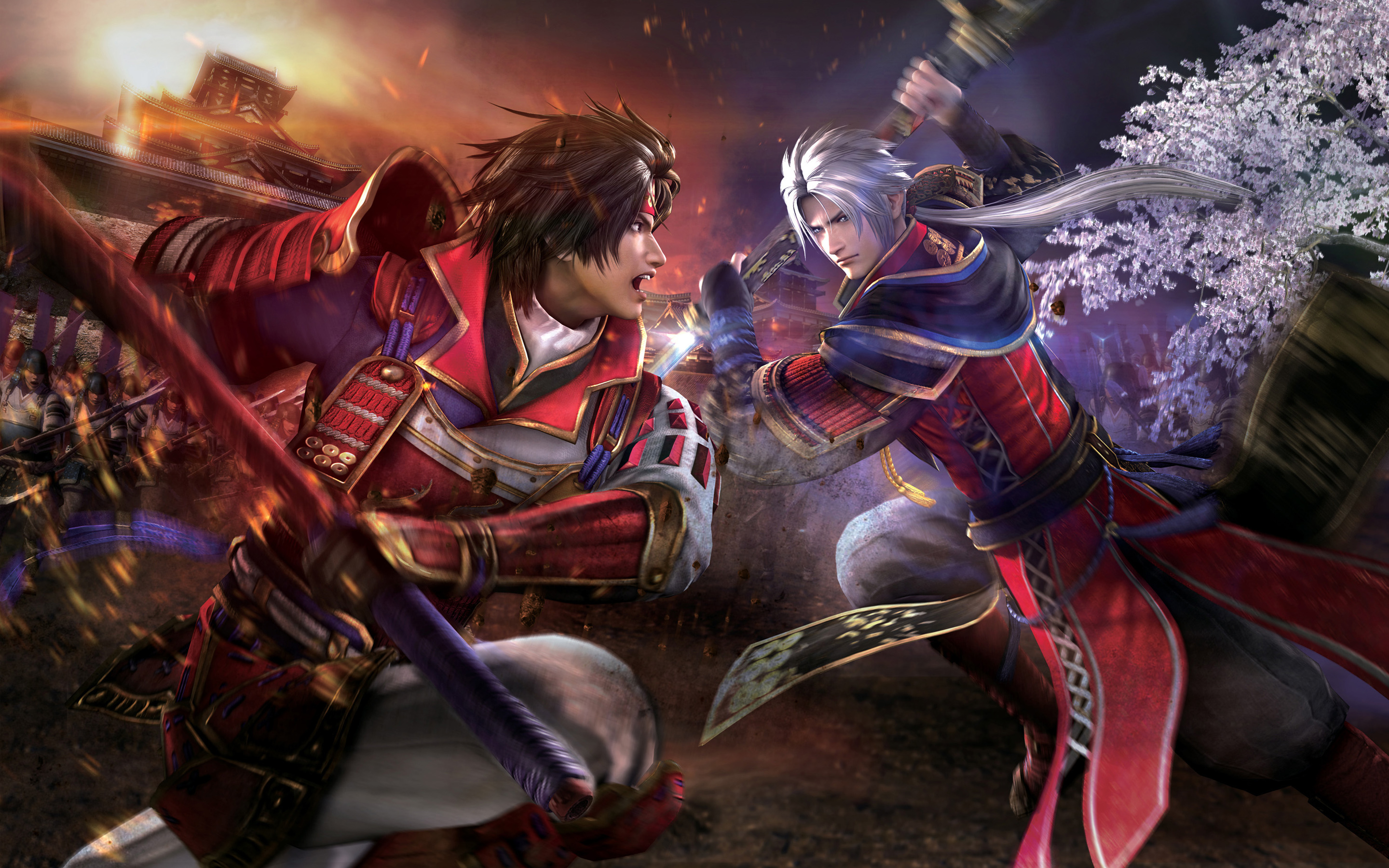 Papel de parede Samurai Warriors 4 para download gratuito. Use no computador pc, mac, macbook, celular, smartphone, iPhone, onde quiser!