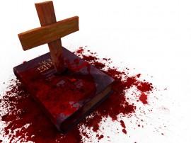 Papel de parede Sangue n Bíblia