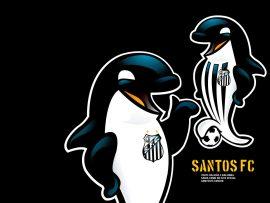 Papel de parede Santos – Baleinha e Baleião