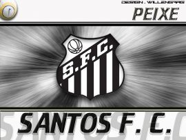 Papel de parede Santos – Futebol Campeão