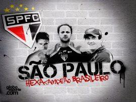 Papel de parede São Paulo – Hexacampeão Brasileiro