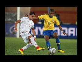 Papel de parede Seleção Brasileira – Bola dividida