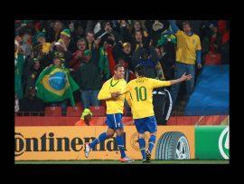 Papel de parede Seleção Brasileira – Comemorando