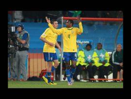 Papel de parede Seleção Brasileira – Mãos levantadas